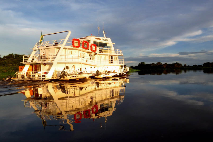 Pantanal River Cruise Wildlife Cruises Boat Trip River Trips - Us to brazil by boat map